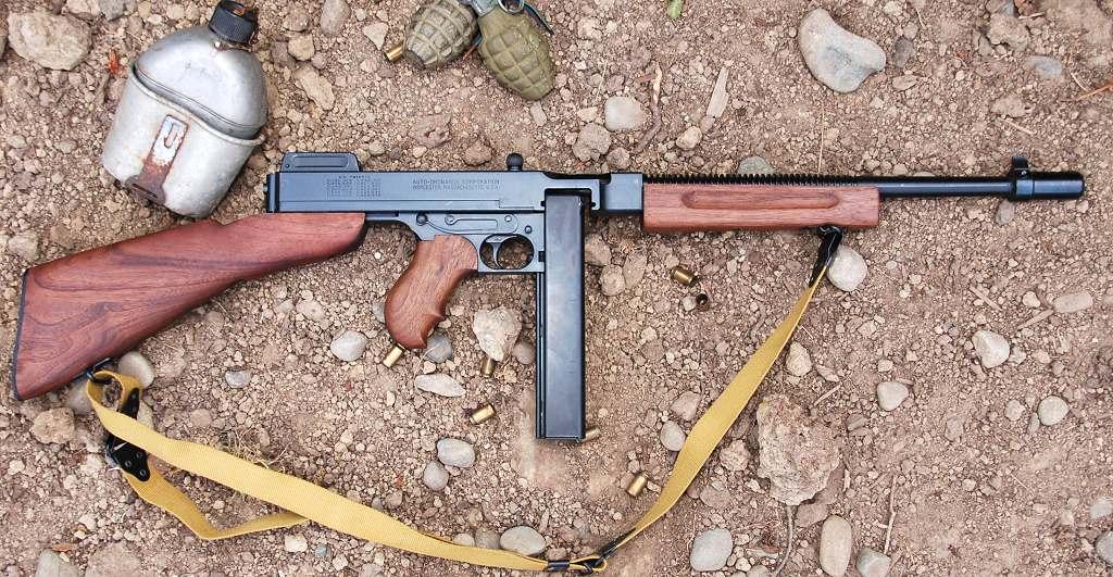 Zamo's Kahr Auto-Ordnance Thompson 1927A1 Tommy Gun